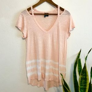 ANTHROPOLOGIE // Left of Center Open Shoulder Tee